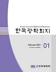 한국광학회 KJOP Vol32, No.1